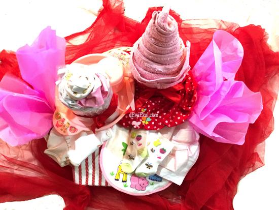 parcel merah,cara membuat parcel bayi,tutorial membuat parcel bayi merah,§cara membuat parcel bayi,parcel merah,apa saja yang diperlukan untuk membuat parcel,