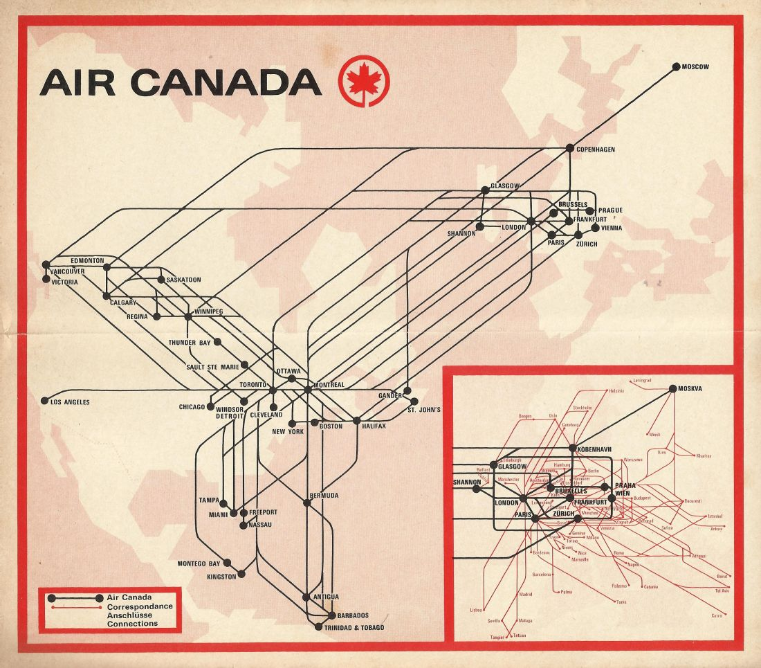 how to find previous flights in air canada