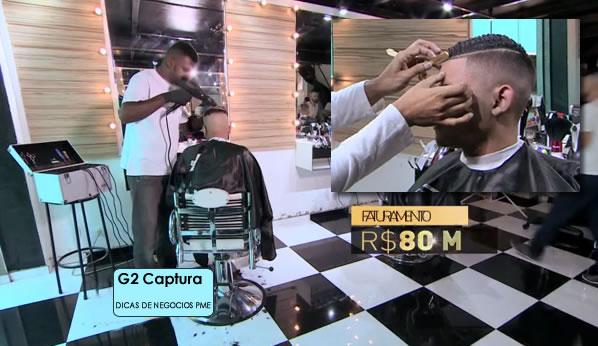 Corte de cabelo de cantor de funk