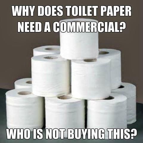 Buying toilet paper meme