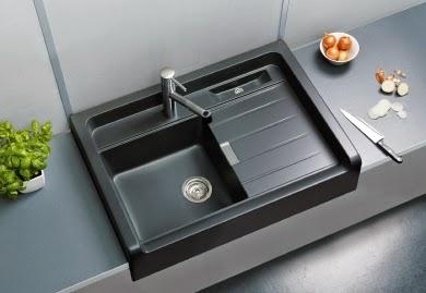 Un fregadero schock para cada estilo de cocina for Fregaderos de porcelana para cocina
