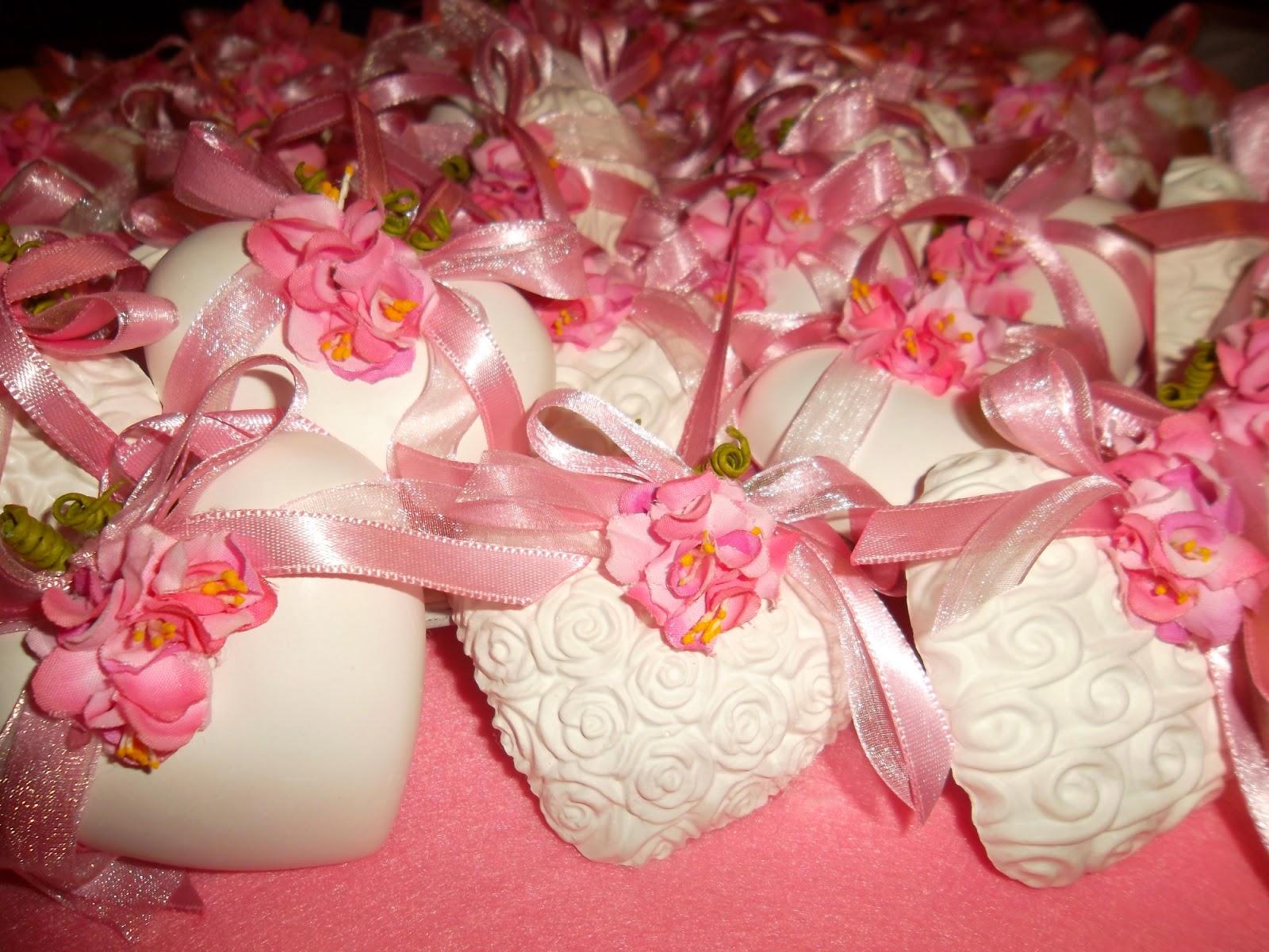 Marianna creazioni e ricami cuori bianchi nastri e fiori - Fiori gialli profumati ...