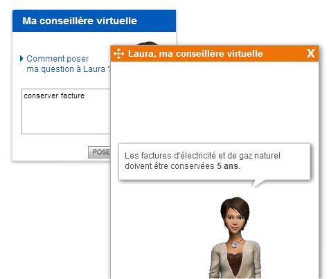 capture d'écran du site EDF