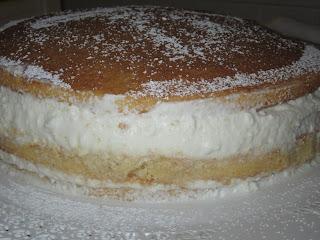 torta di ricotta e pere