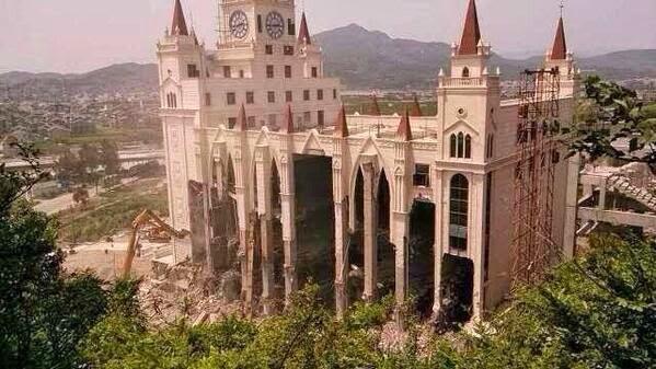 Destruição de mega-igreja cristã na China