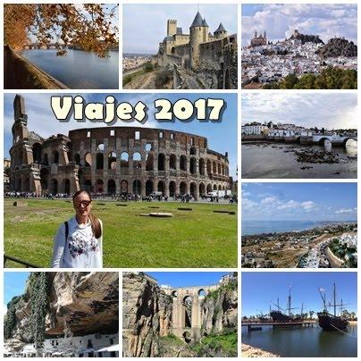 Mis viajes del 2017