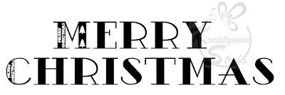 Czcionki świąteczne – Boże Narodzenie