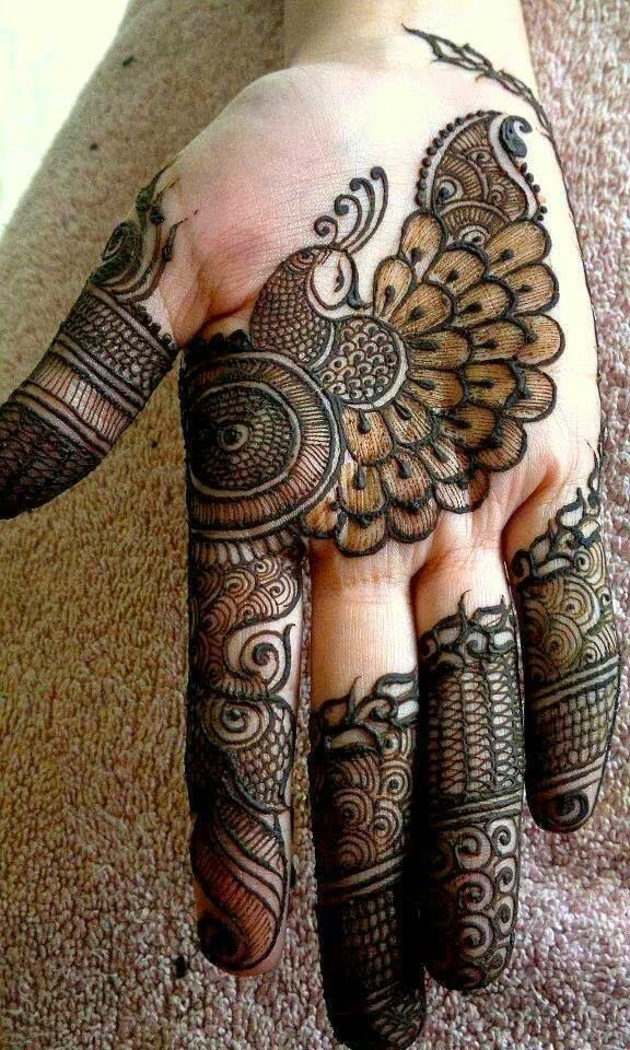 Classic Top and Best Designs of Henna Mehndi