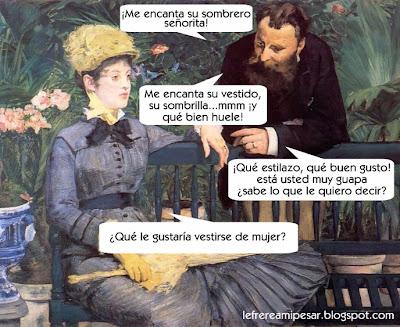 Manet, retórica,
