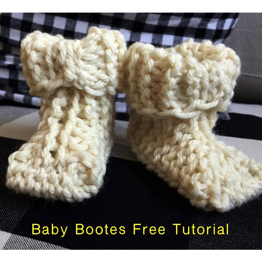 Baby Bootes Free Tutorial