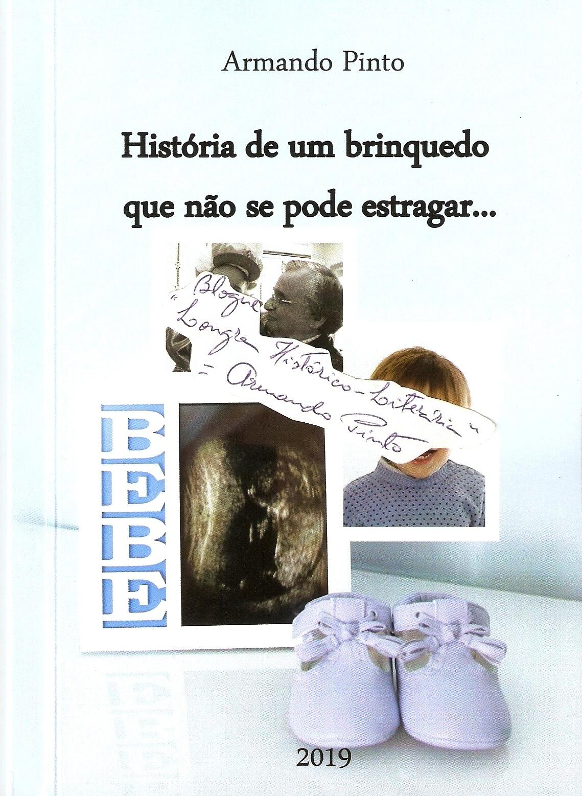 """Livro """"História de um brinquedo que não se pode estragar"""""""