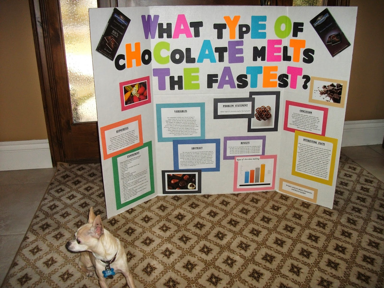 melted chocolate science experiment If the temperature of the melted chocolate is //wwwsciencebuddiesorg/science-fair-projects/project-ideas temper, temper the science of tempering chocolate.