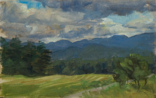 Paintyngs Plein Air Paintings Of The Adirondacks