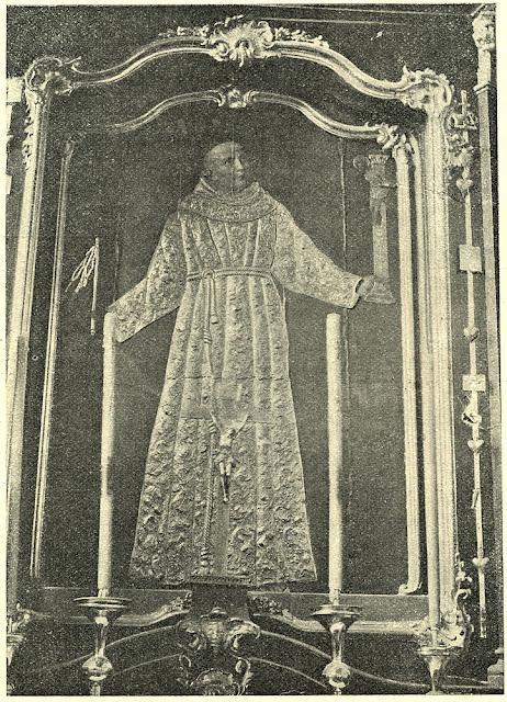 Błogosławiony Ładysław z Gielniowa. Fotografia z tygodnika Ziarno, nr 7 z 15.02.1907 r.