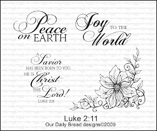 Our Daily Bread Designs - Stamps Luke 2:11
