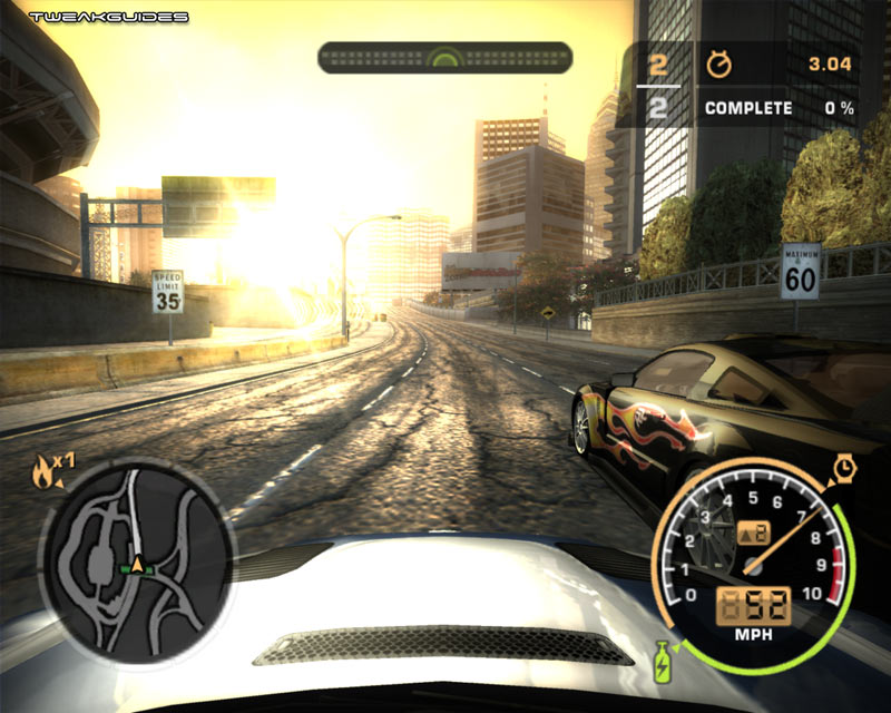 SCREEN WALPAPER: Need for speed most wanted black edition