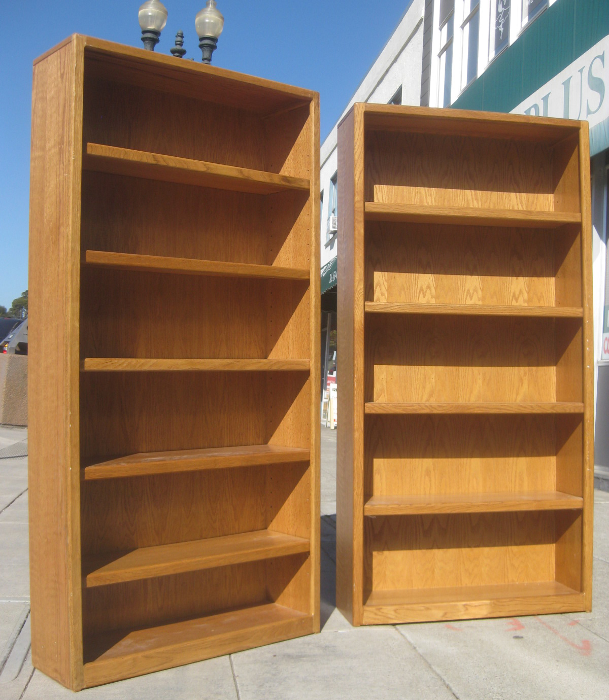 bassett hand second wooden sale off storage for bookshelf