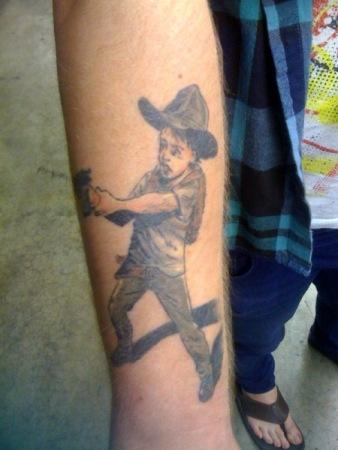 Domino Kirke Tattoos
