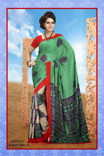 Printed Designer Saree,Latest Georgette Printed Saree,Latest Georgette Printed Saree-Buy Online Shopping
