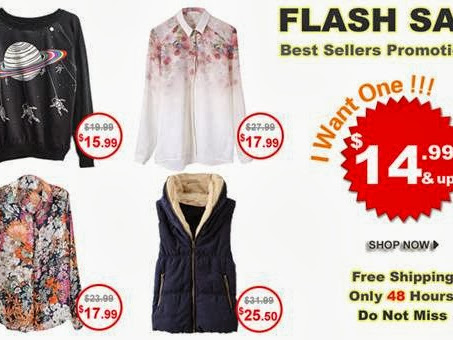 Romwe Flash Sales 48h