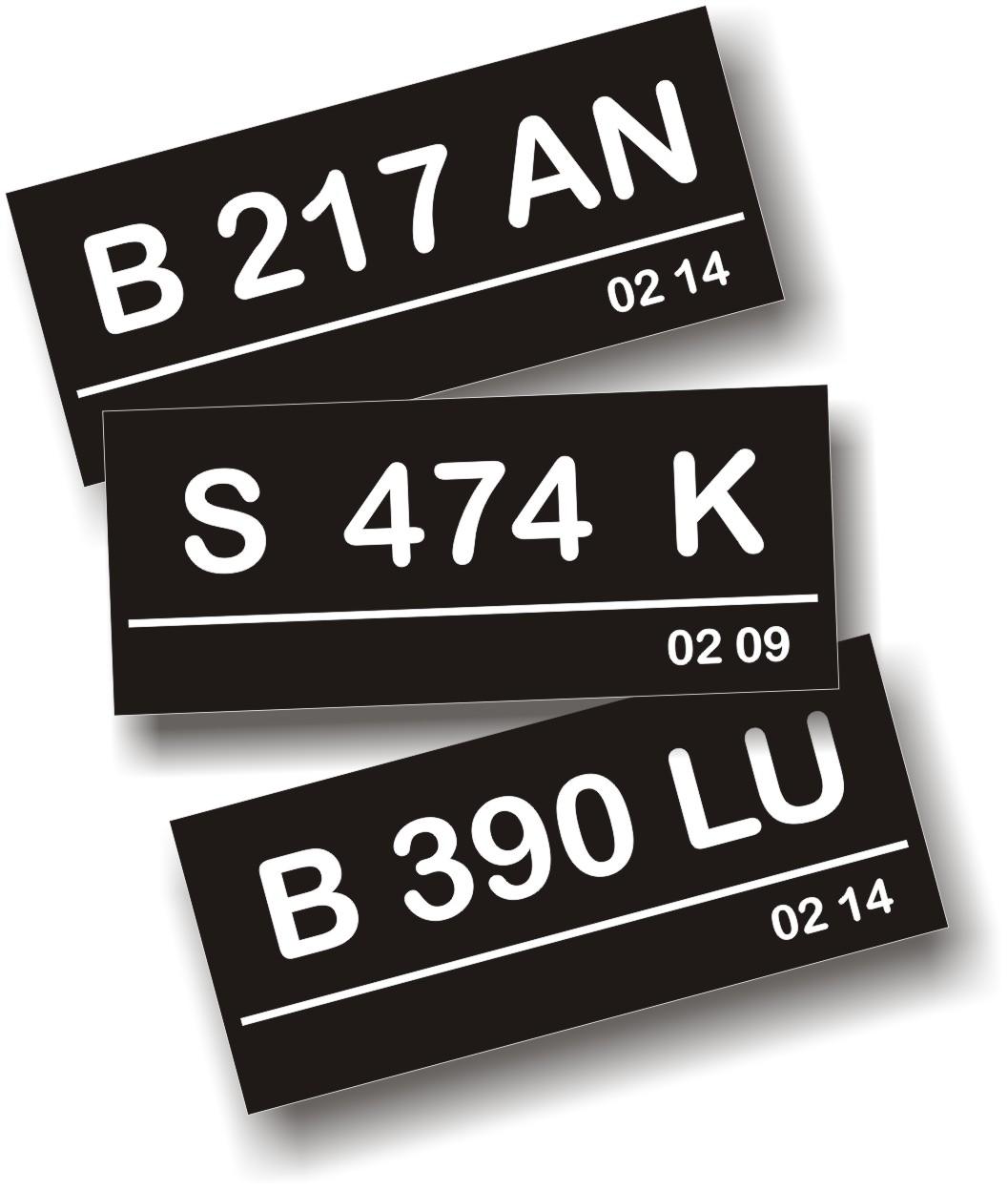 Plat Nomor Kendaraan Indonesia