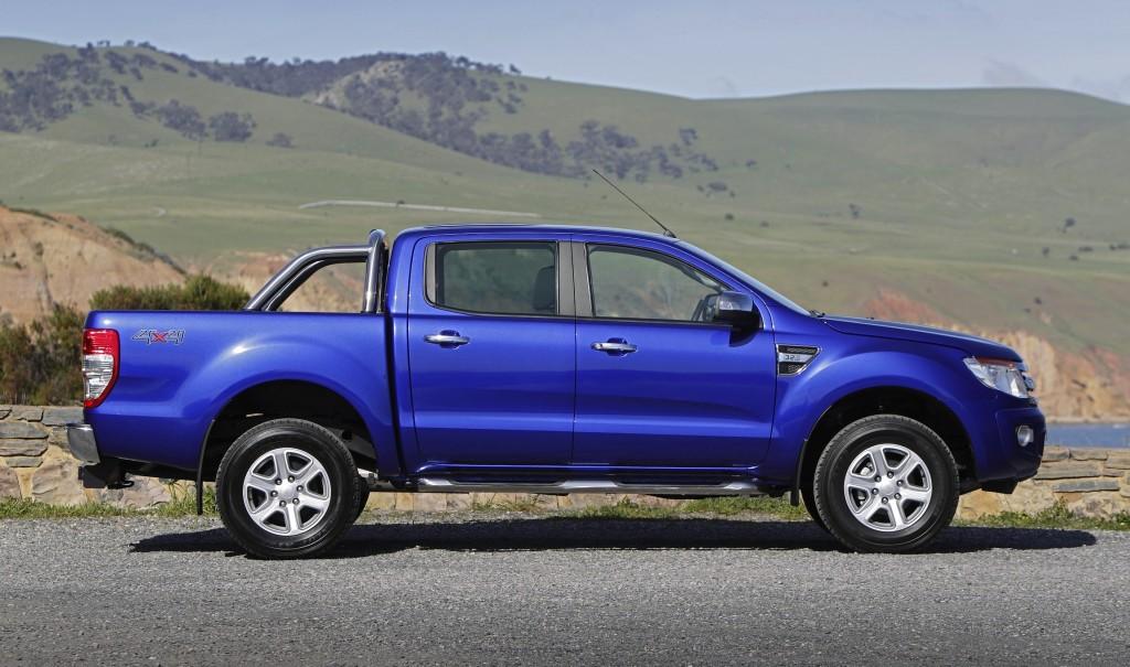 novo Ford Ranger 2014 lateral 1