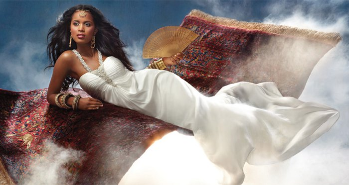 African American Brides Blog Wedding Gown Of The Day Princess Jasmine