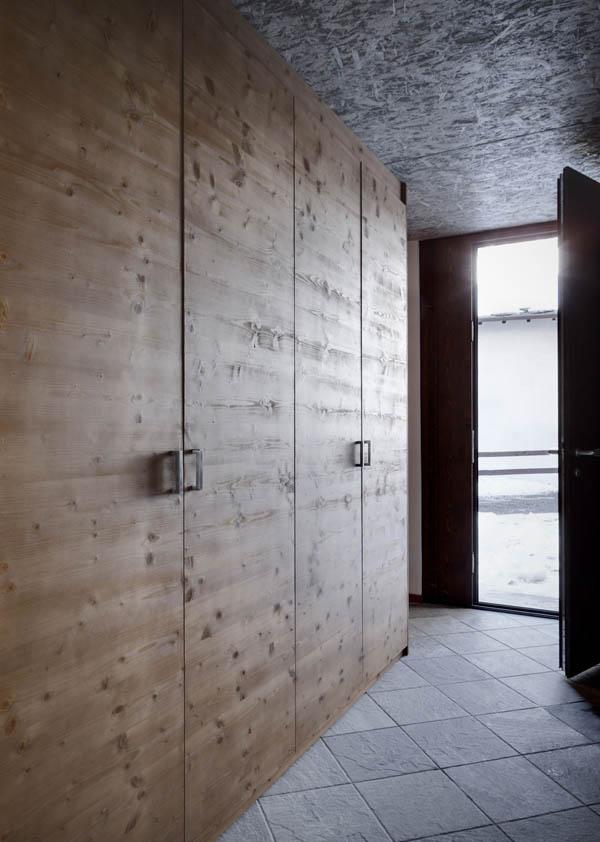 puertas de madera rusticas y minimalistas