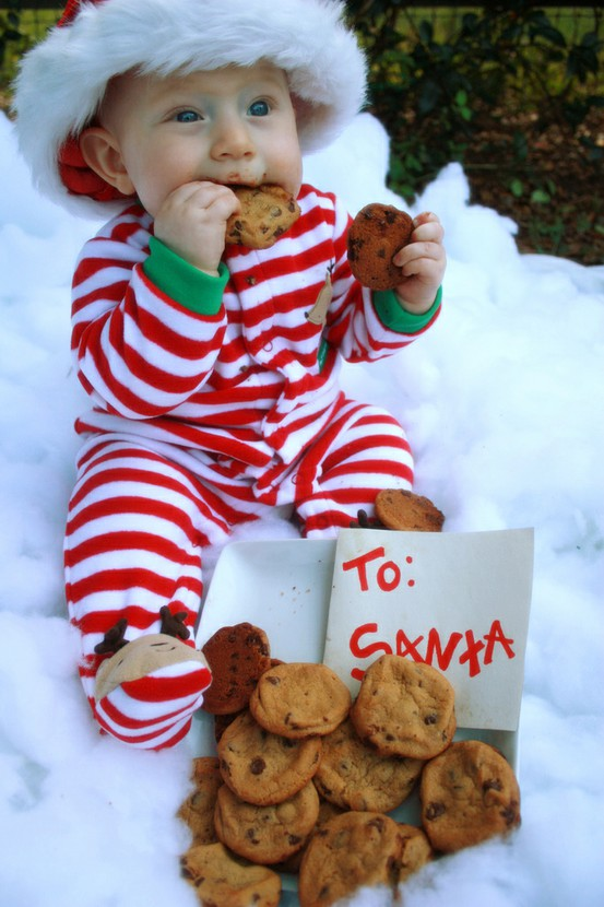 Mrs mommy talk its christmas time baby photo shoot ideas for Cute baby christmas photo ideas