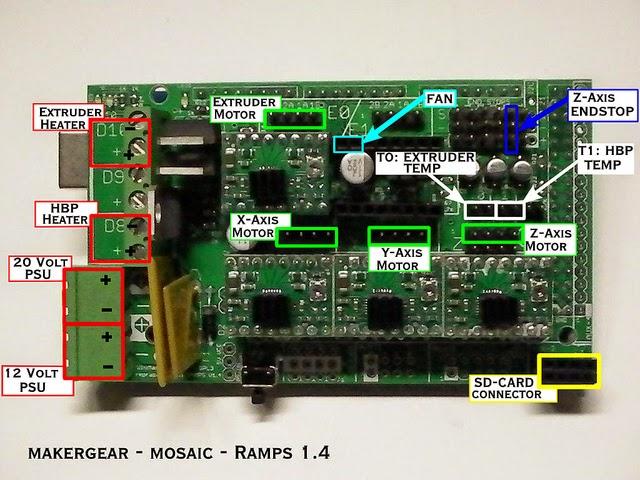 ramps board wiring  ramps 1 3 wiring diagram #44
