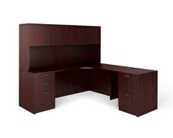 Corner Office Desk Configuration