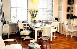 oficina con plantas