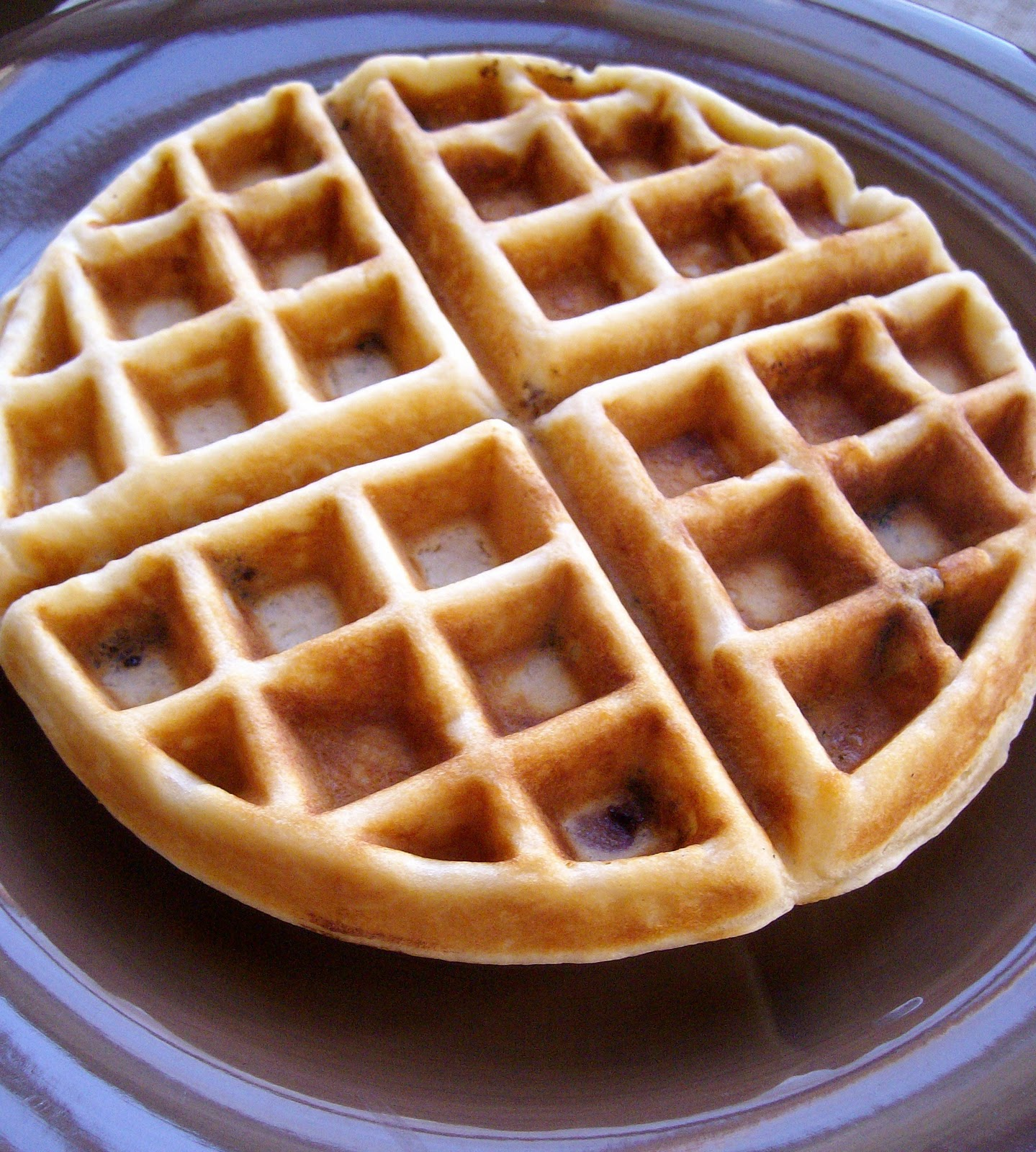 Buttermilk Waffles Recipe — Dishmaps