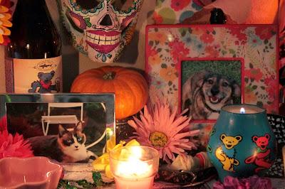 Dia de los Muertos Pet Alter