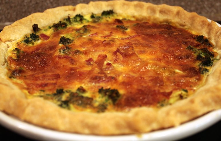 Broccoli-Cheddar Quiche | Family Heritage Recipes