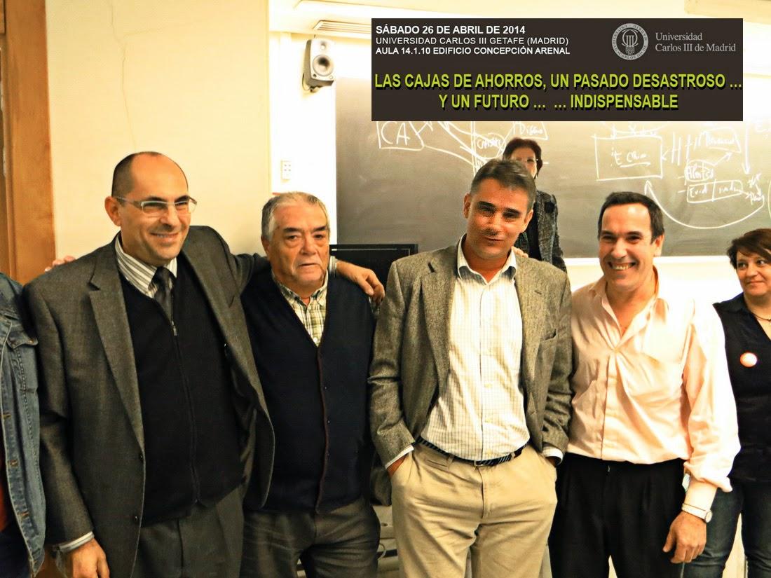 Elpidio Silva, Juan Ignacio  Moreno Yague, Jose Ignacio Martín y Antonio Barahona