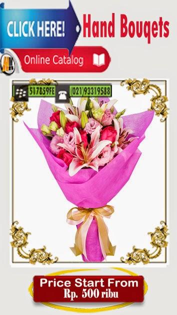 handbouquet bunga ulang tahun