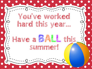 Vibrant image regarding have a ball this summer free printable