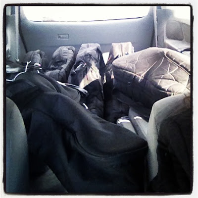 A van that's full of cellos is our favorite kind of van
