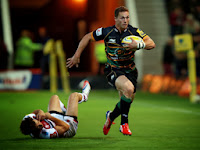 George North, Gogzilla, Northampton, Saints, rugby, Aviva Premiership,