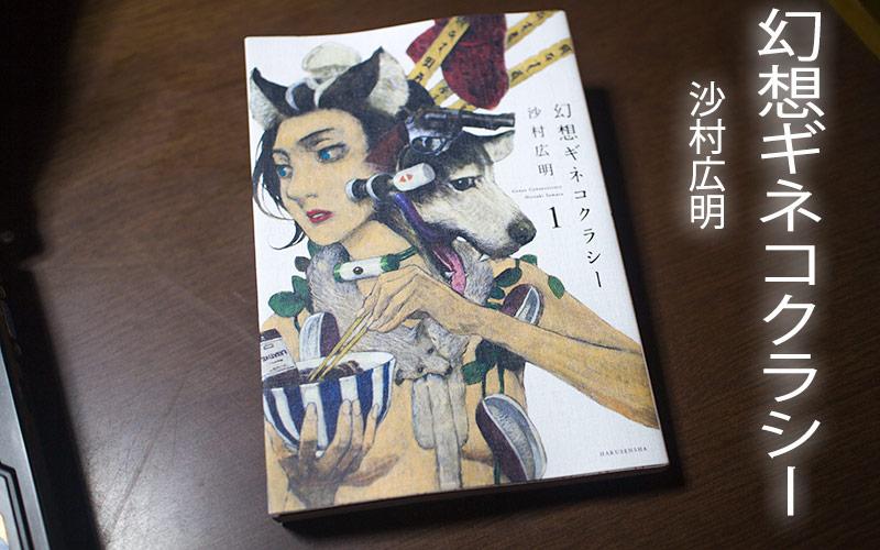 沙村広明の短篇集『幻想ギネコクラシー』に脳みそをくすぐってもらった。