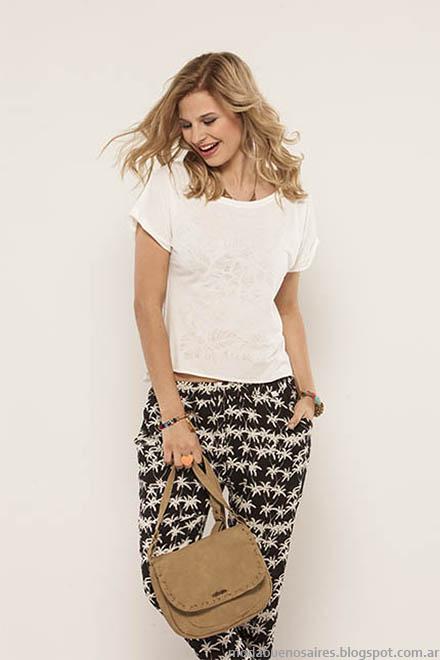 Pantalones de verano moda 2015 Doll Fins.