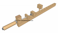 SketchUp wooden clamp, rumageinthegarage