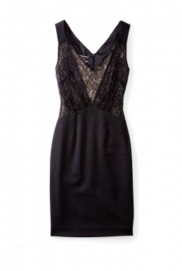 Black Aziza Lace Camisole Shift Dress