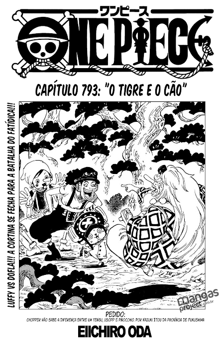 One Piece Mangá 793, Mangá One Piece 793, One Piece Capítulo 793, One piece 793, Todos os Mangás, ler, português, traduzido, legendados