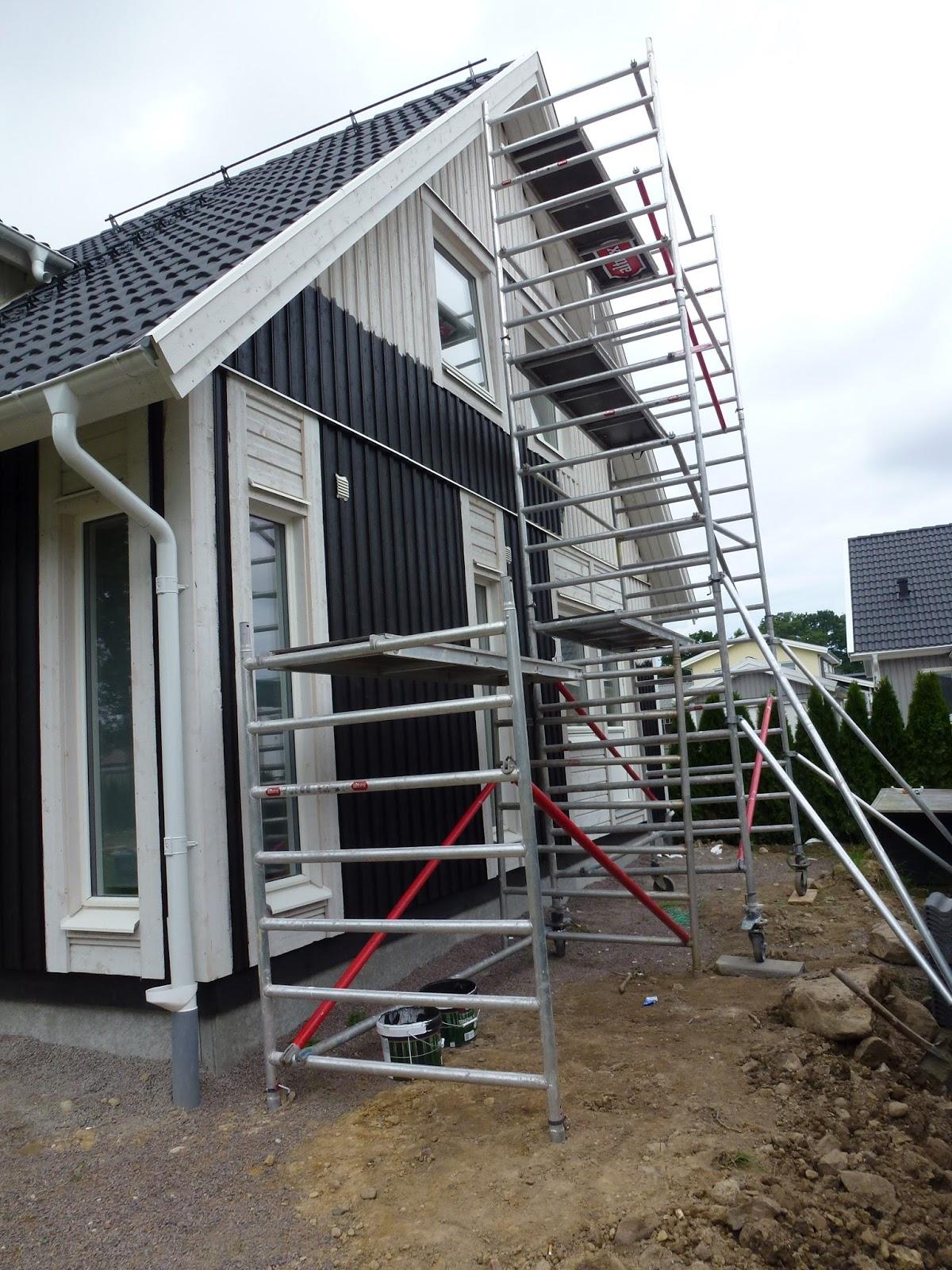 Vi byggar Villa Kalmar från Smålandsvillan =-: juli 2012
