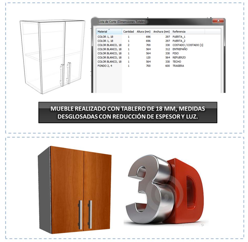 Dise o de muebles madera programa para dise ar y crear for Diseno de armarios online