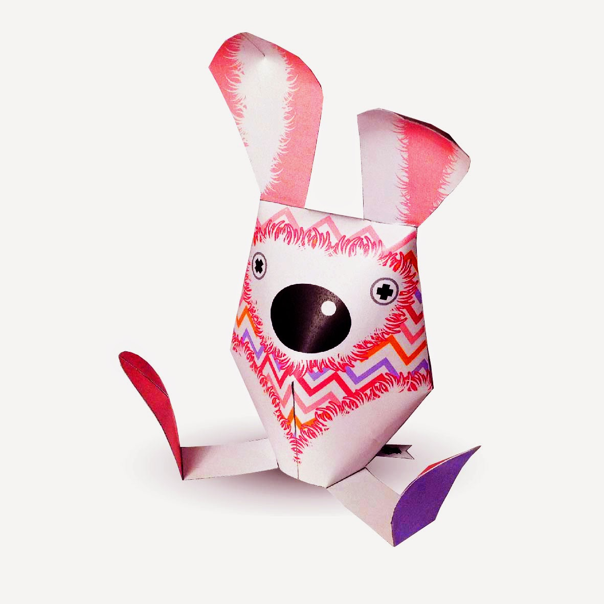 2015 Easter Bunny Paper Toy