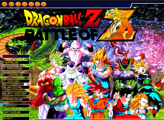 Dragon Ball Z MUGEN 2015 Full Version PC