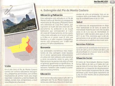 Región del Pié de Monte Costero